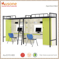 Wholesale price apartment dormitory metal bed frames manufacturers