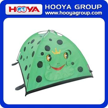 Yiwu frog outdoor waterproof children kids castle tent