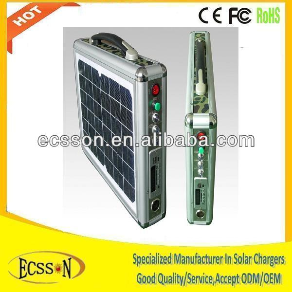 10W mini solar system project for home,hiking,camping