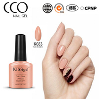 New design CCO kissgel 7.3ml 89 colors gel nail polish soak off brands of nail gel