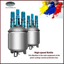 heat activated paint production machinery
