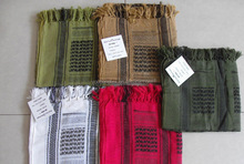 100% cotton military scarf/ tactical scarf /military shemagh