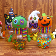 Creative Fabirc Halloween Candy Bags Horrible Dolls Party Favors Candy Box Candies Bottle