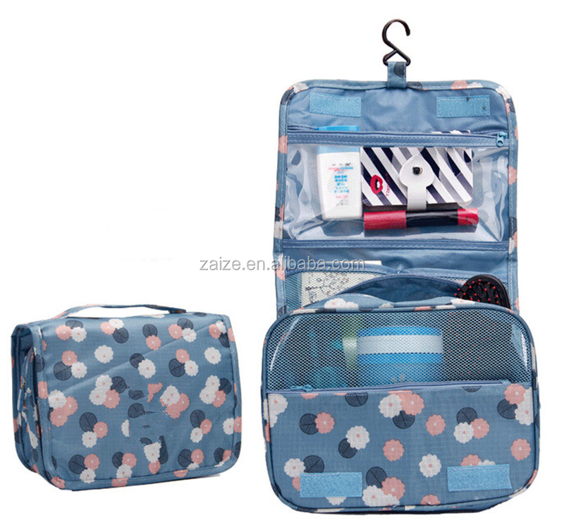 Bathroom Makeup Shaving Kit Bag Folding Portable Travel Organizer Storage Bags Household Storage Pack