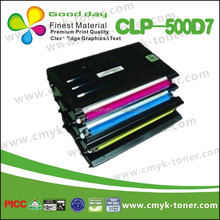 Printer toner cartridge CLP-500D7 combatible for SAMSUNG laser jet CLP-500/500N/550/550N, with chip