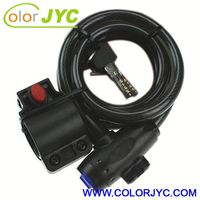 J198 factory directly supply electronic bicycle lock
