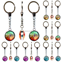 Fashion tree of life metal keychain Wholesale NSY-0001