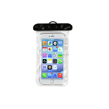 New arrival mobile phone pvc waterproof bag for phone 6 plus
