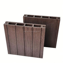 Outdoor and interior WPC composite wooden wall panel