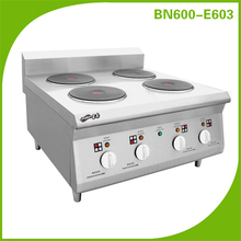 Restaurant counter top Electric Cooking Range With 4 Round Hot Plate BN600-E603 (CE Approval )