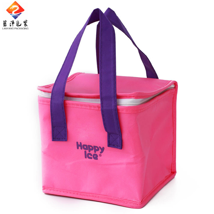Wholesale cheap 6 can aluminium foil cooler bag