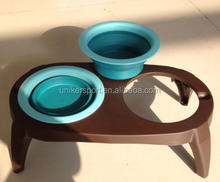 double Pet Food and water bowl