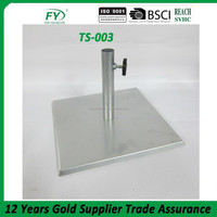 Square Stainless steel adjustable outdoor garden oil lamp garden Torch Stand