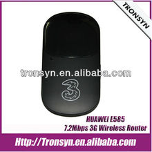 Original Unlock E585 HSDPA 7.2Mbps 3G Wireless Router,3G Mobile WiFi Hotspot,3G Router