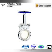 Z973 cast iron ss316 motorized knife gate valve china supplier