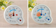 Dial type bimetallic thermometer with humidity