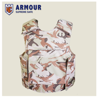 ballistic-resistant/Vip military security flak jacket with Camouflage