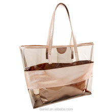 2017 summer clarity PVC bags purses and handbags combination bags for women