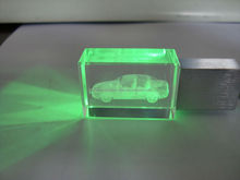 crystal mini usb flash drive for sale