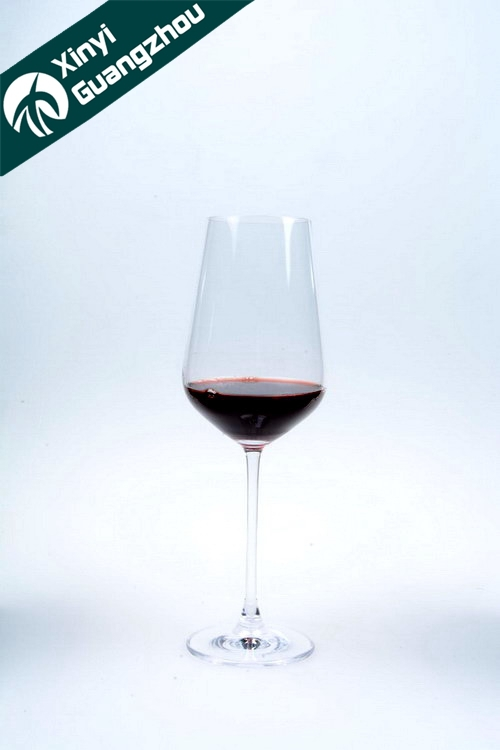 350ml red high class crystal wine glass