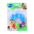 Huile 306D Rattle Teether Fun plastic teether Non-toxic protection for baby