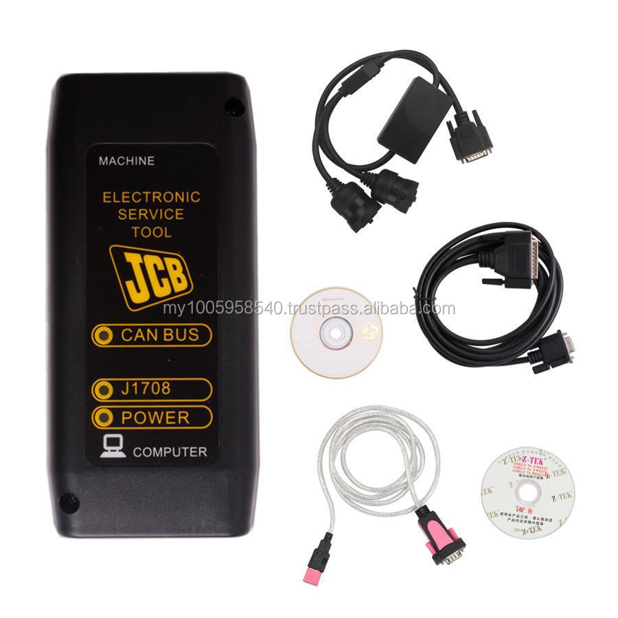 JCB Heavy Duty truck diagnostic interface v8.1.0 JCB electronic service tool JCB CAN BUS Truck diagnostic tool DHL free shippin