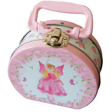 custom tin lunch box tin box with lock and handle