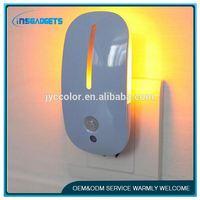 led nightlight ,016cl012, led sensor humantoon night light for baby room