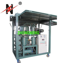 Renew used transformer oil,Double stage oil filter machine