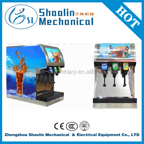 Lowest price Coke snow tuning machine/commercail /3 valve /electronic control system with best service
