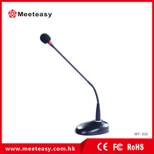 Professional desktop capacitor microphone gooseneck microphone cable meeting computer recording broadcast wired microphone
