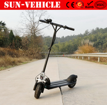 2017 new adults 500W 48V lithium battery e scooter foldable electric scooter mini folding electric bike for sale