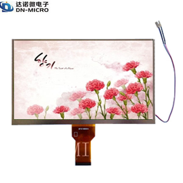 customized available mipi dsi interface LCD display / 10.1 inch mipi dsi LCD Display with 1024*600 resolution