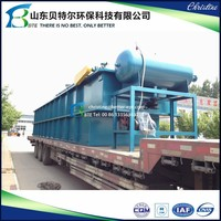 High TSS and Oil Removal Rate Dissolved Air Flotation Machine for Oily Sewage Treaetment Plant