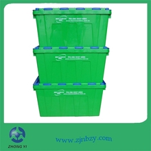 Eco friendly stackable plastic box