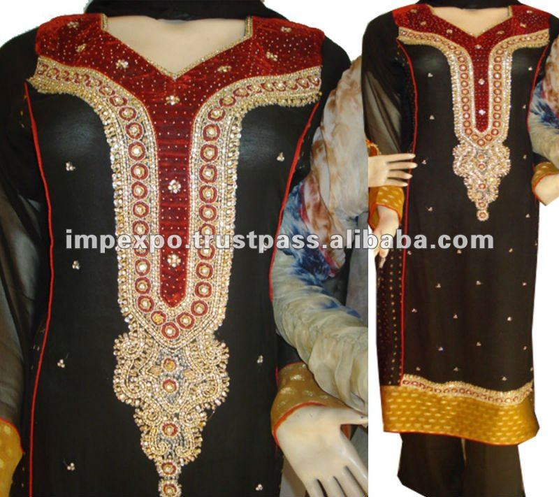Designerwear Bridal / Weddingwear Dress ( Kali Frock)