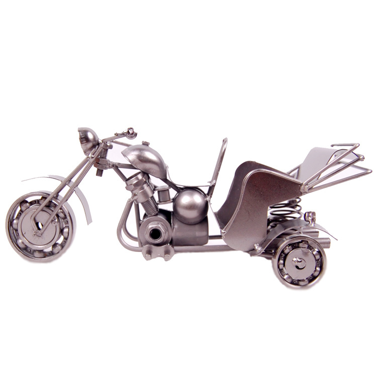 Mettle New Arrival Handmade Metal Art Craft 3d Motorcycle Model For Office Household Decoration Gift