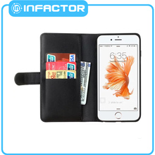 With good quality leather case for iphone5c