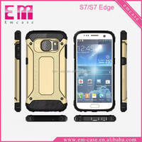 2016 HIgh Quality Rubber Armor Case For S7 Edge,Hard Cover Case For Samsung S7 Edge Plus