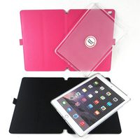 Case rotative for ipad Ultra-thin tablet case 360 degree rotation multiple folding tablet case