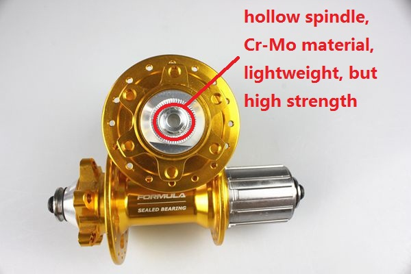 Multi-color mtb Alloy Sealed Bearing Bicycle Disc Brake Hub