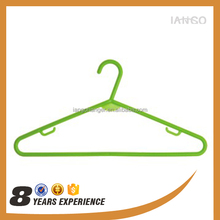 colorful good quality plastic hanger for drying clothes