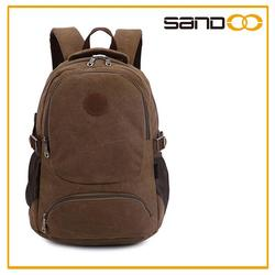 Wholesale alibaba leisure pack, canvas backpack traveling bag