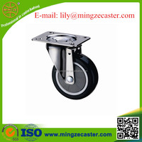 Medium Duty Soft Rubber Casters for hospital