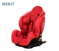 Baby Car Seat ISO FIX+Latch Red for 9 to 36kgs child safety Group 1+2+3 PP Injection ECE R44/04 BQ-02