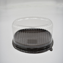Low Price Disposable Clear Plastic Small Cake Packaging