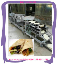 Automatic whole line for Turkish shaurma/lavash/durum making machine /big pancake production machine