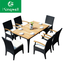 Garden used 10 seating big size dining set