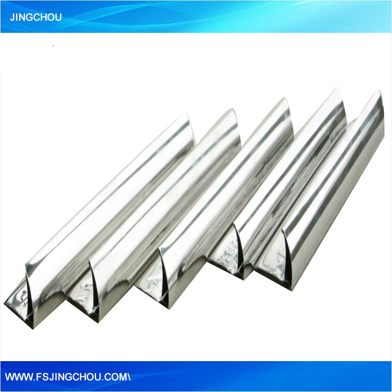 Hot selling aluminum l shape tile trim from Foshan