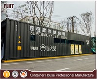 China manufacturing cheap price modular container home gym